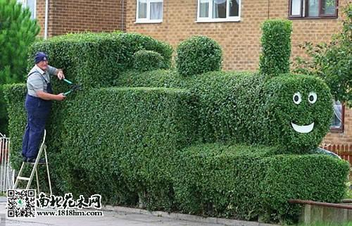 经典园林元素:树篱的作用及艺术体现