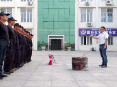 """沭阳国际花木城开展""""安全生产月""""消防演练"""